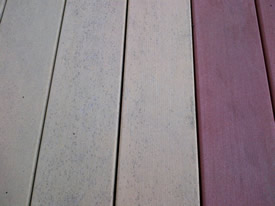 Spray & Clean Composite Deck Cleaner - Before