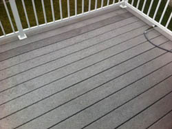 Spray and Clean Composite Deck Cleaner - Testimionial - Before