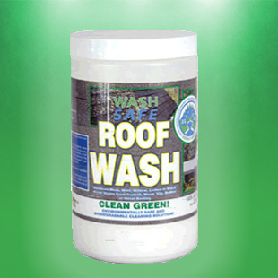 Roof Wash - An inexpensive way to professional clean your roof in an eco-friendly way.