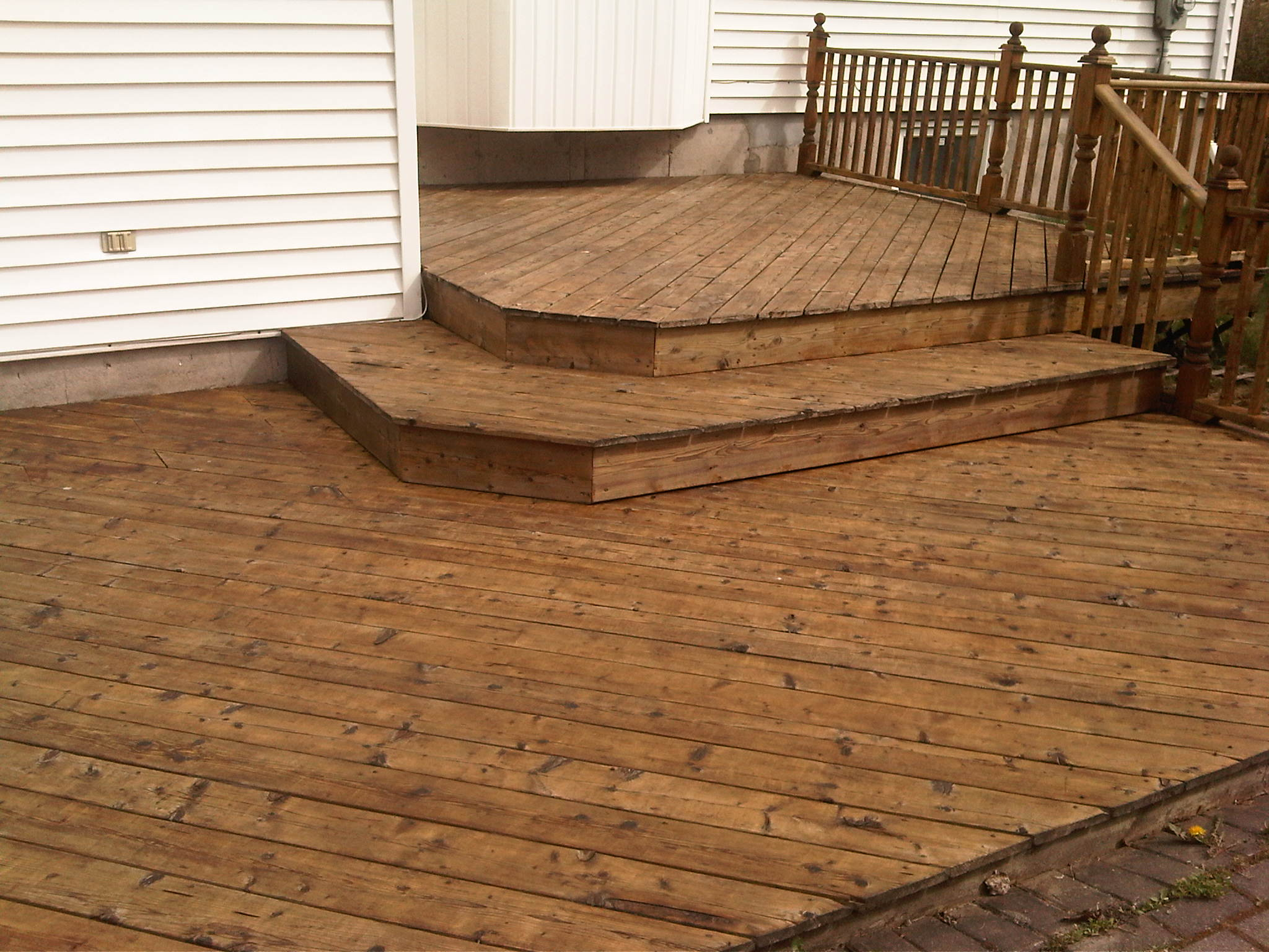 Deck Wash - After
