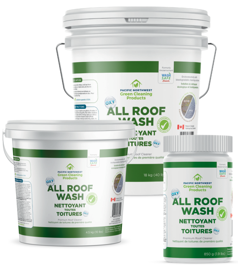 All Roof Wash Pacific Northwest Green Cleaning Products
