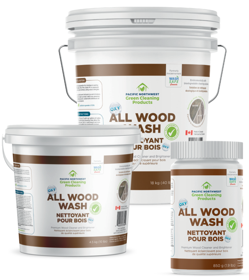 All Wood Wash Pacific Northwest Green Cleaning Products