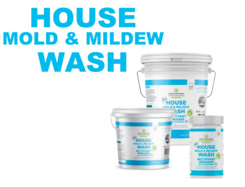 Flood Clean up with Wash Safe Canada products