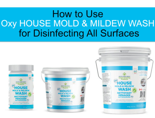 How to Use Oxy House Mold and Mildew Wash for Disinfecting All Surfaces